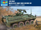 UNITED STATE ARMY M1131 STRYKER FSV 1/35 tank Trumpeter model kit00398