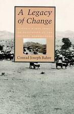 A Legacy of Change: Historic Human Impact on Vegetation of the Arizona-ExLibrary