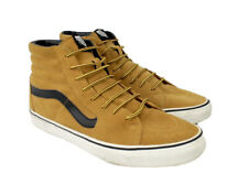 Vans OTW SK8-Hi Mens Suede High Top Shoes Sz 11.5 Tan Leather Skate Boots