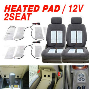 Car Interior Heated Pad 2Seat 3way LED Switch Hot Heater Diy Kit for Renault Car