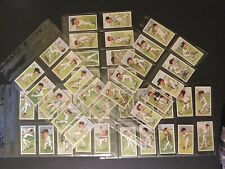 Cricketer Cigarette Cards Original Full Set 50 Caricatures by RIP 1926 Player UK