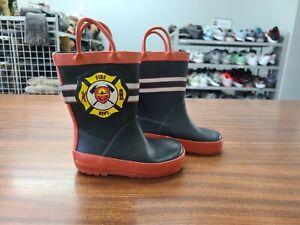 Cat & Jack 'Fireman' Rain Boots - Toddler 5/6