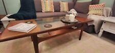 G Plan Teak Glass Fresco Coffee Table