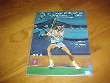 1990 Les Internationaux Players Tennis Program Toronto Canada York University
