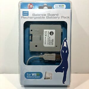 CTA Balance Board Rechargeable Battery Pack 2800 MAH for Wii fit Wi-BBP Sealed