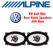 "VW Golf Mk2 II 1983-1995 - 4""x6"" 10x15cm Rear Hatch/Shelf Speakers Upgrade Kit"
