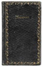 HANDWRITTEN BOOK 19th.C. PHARMACOPOEAL MEDICINE MANUSCRIPT French Latin DRUGIES