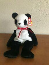 Original FORTUNE the Panda Ty Beanie Baby – ERRORS, MWMT, RARE, Ships FREE !
