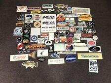 76 Fishing Stickers Zebco Scotty Real Tree AFW C & H Lures Duckett Aftco Dexter