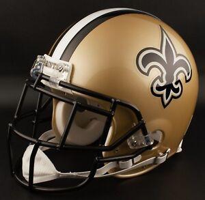 REGGIE BUSH Edition NEW ORLEANS SAINTS Riddell REPLICA Football Helmet NFL