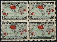 Mint No Gum/MNG North American Stamp Blocks