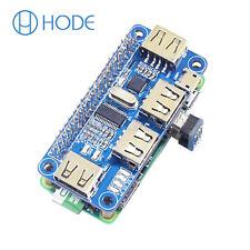 4 Port USB HUB HAT Expansion Board Raspberry Pi 3 Model B /Zero V1,3/Zero W UK