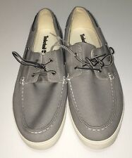 TIMBERLAND MENS BOAT DECK SHOES STYLE A157G  GRAY SIZE 13