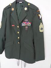 Jacke 101 Airborne Green Dress Top mit Orden Sergeant First Class WOMAN !