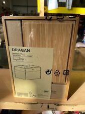*New* DRAGAN Box, set of 3, bamboo, 23x17x14 cm 502.818.56 *Brand IKEA*