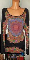 DESIGUAL♥TUNIKA SHIRT DREAM♥GR.XL/XXL 40/42/44/46 JEANS*HIPPIE*ROCK*KLEID*w.NEU❤