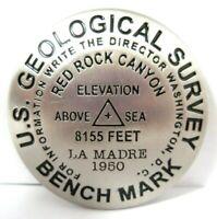 Red Rock Canyon Souvenir US Geological Survey Benchmark Fridge Magnet