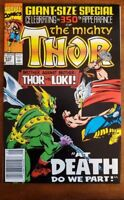 The Mighty Thor Comic 432 Marvel Comics Giant Size Special 350th Appearance  NM