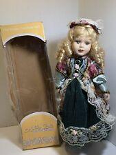 New Victorian Ashley Belle Collection Porcelain Doll- Melana