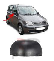 FOR FIAT PANDA 2009 - 2012 NEW WING MIRROR COVER CAP BLACK RIGHT O/S
