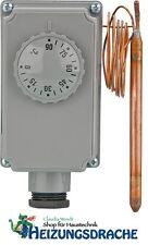 Gehäusethermostat GT 0 - 90 ° C Kapillarlänge 2 m Thermostat mit Kapillarleitung