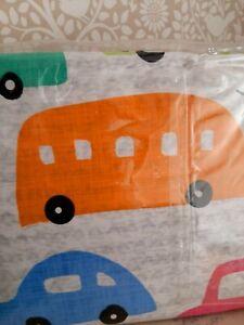 Next car print single duvet set