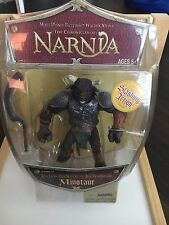 Chronicles Narnia Minotaur Action Figure Disney Store Lion Witch Wardrobe NEW