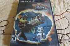 PLAYSTATION PS2 RATCHET & CLANK; GOING COMMANDO VIDEO GAME OG BLACK LABEL