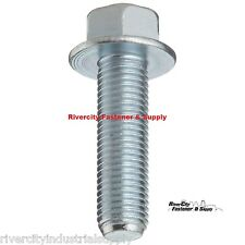 (5) M6-1.0 x 20 or M6x20 6mm x 20mm J.I.S. Small Head Hex Bolt 10.9 Zinc