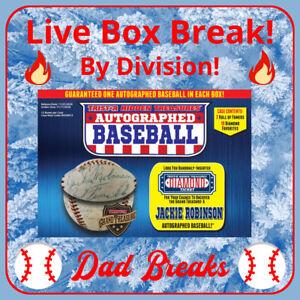 NL CENTRAL (5 MLB TEAMS) TriStar 2020 autographed/signed Baseball LIVE BOX BREAK