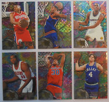1995-96 Fleer Metal:  Rookie Roll Call (6 cards), Stackhouse, Joe Smith, McDyess