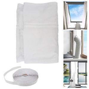 Fensterabdichtung Klimaanlagen Klimagerät Hot Air Stop Abluftschlauch 4M