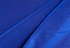 "Iridescent Blue Silk from India, Light, 44"" Wide Elegant Fabric. 1 Yard. Sewing"