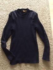 SIZE 38 NAVY BLUE 100% WOOL BRIGADE QUATERMASTERS SWEATER