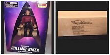 Sealed Case 6 Diamond Select Star Trek TNG Figure William T Riker Command Chair