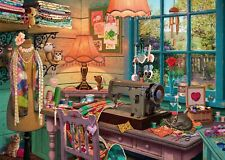 Ravensburger - 1000 PIECE JIGSAW PUZZLE - The Sewing Shed My Haven No 4