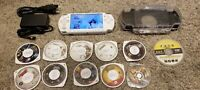 Sony PSP 2000 White Star Wars Darth Vader Tons of Games MUST SEE!