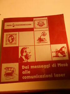 LIBRO: DAI MESSAGGI DI MOSE' ALLE COMUNICAZIONI LASER- POSTE TELECOMUNICAZIONI
