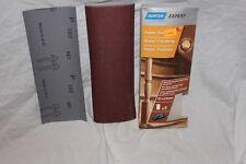 FOGLI ABRASIVI PER LEVIGATRICE A MORSETTO 93 x 230 mm x 5 fogli per confezione 180 GRANA-SUPER