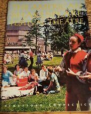 1966 AMERICAN SHAKESPEARE FESTIVAL Program Stratford Connecticut 32pgs