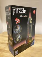 Ravensburger 3D Empire State Building Night Edition Puzzle- 216 Pieces Checked