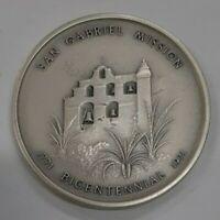 1971 Medallic Art Co. San Gabriel Mission Bicentennial .999 Silver Medal in Box