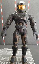 "New ListingBlack Spartan 2004 Joyride Halo Master Chief Series 5 Mark V Armor 6"" Toy Figure"