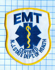 Fire Patch - New Jersey EMT Certified N.J. State Dept of Health