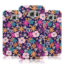 BRIGHT SMALL FLOWER DAISY NEON PATTERN CASE FOR SAMSUNG GALAXY MOBILE PHONES