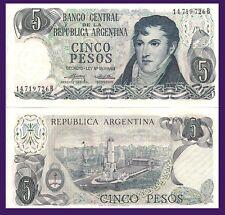 Argentina P294. 5 Pesos, Gen. Belgrano / Mnmt of the Flag, Rosario UNC see w/m