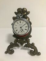 Antique French  Pocket Watch Holder/ Stand