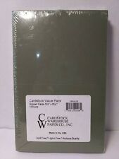 """CARDSTOCK VALUE PACK SCORED CARDS 5-1/2 X 8-1/2"""", 100 PCS. MULTICOLORED"""