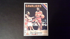 1975 Topps Basketball Jim Chones #66 Cleveland Cavaliers