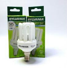 2 LAMPADINE SYLVANIA 11W E14 MINI LYNK RISPARMIO ENERGETICO 585 lm = 48W 6000K